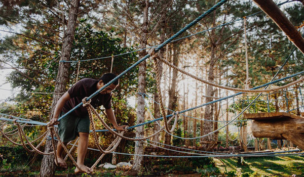 Post Image Adventurous Activities for the Family at Campsites Ropes course - Adventurous Activities for the Family at Campsites